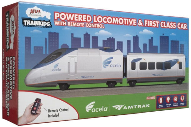 Atlas Trainkids Locomotive & Car Add-On w/Remote