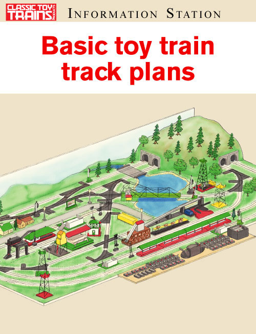 Basic toy train track plans
