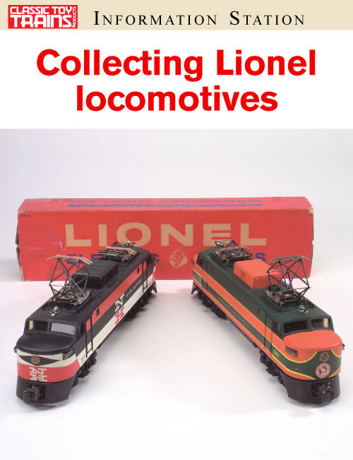 Collecting postwar Lionel diesel and electric locomotives