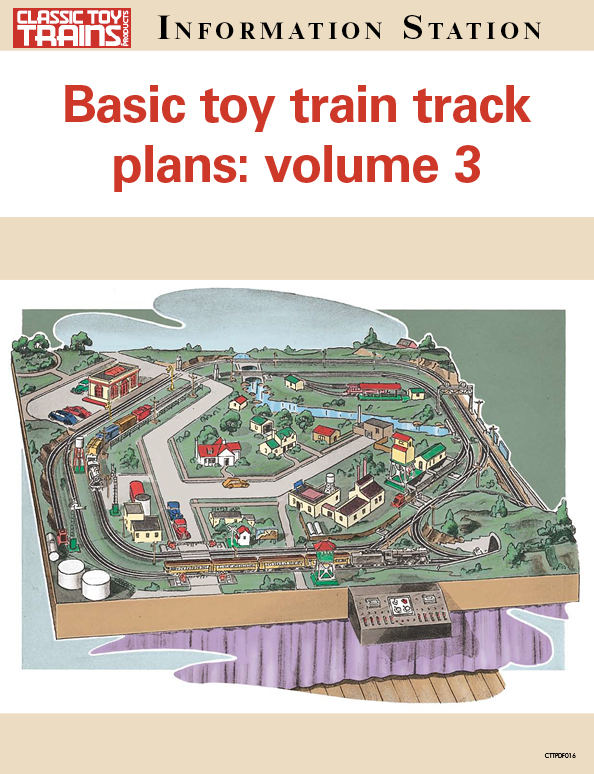 Basic toy train track plans volume 3