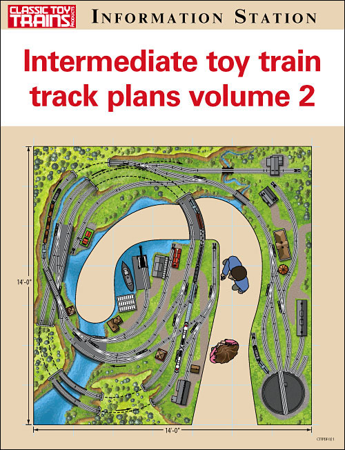 Intermediate toy train track plans volume 2