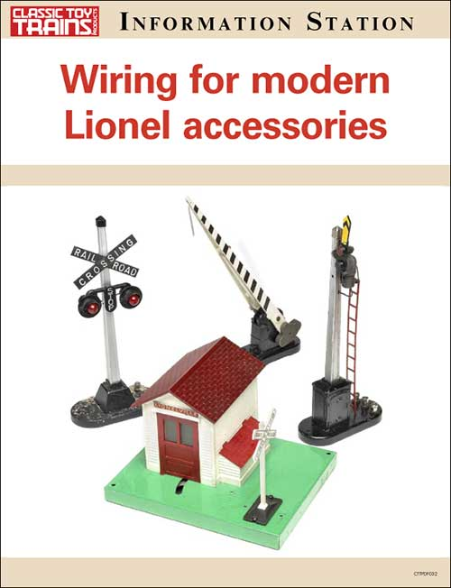 Wiring for modern Lionel accessories