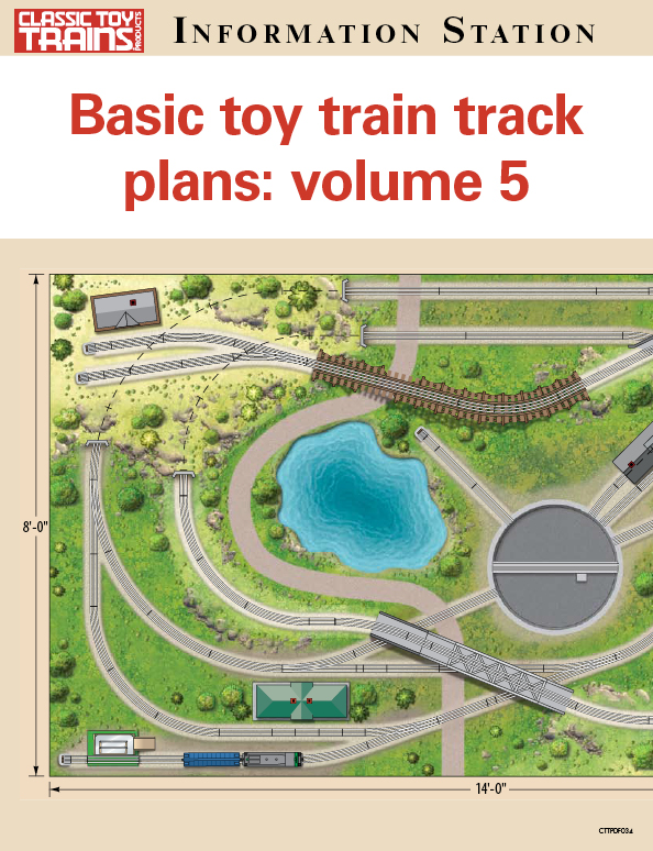 Basic toy train track plans volume 5