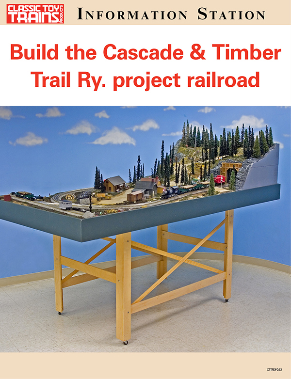 Build the Cascade & Timber Trail Ry. project railroad