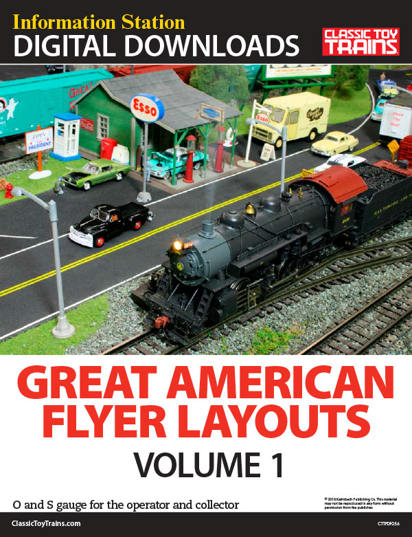Great American Flyer Layouts, Volume 1