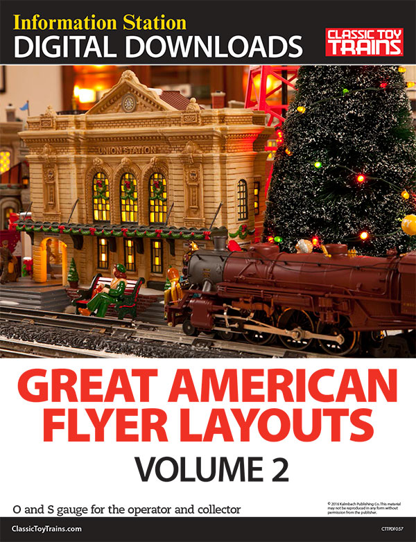 Great American Flyer Layouts, Volume 2