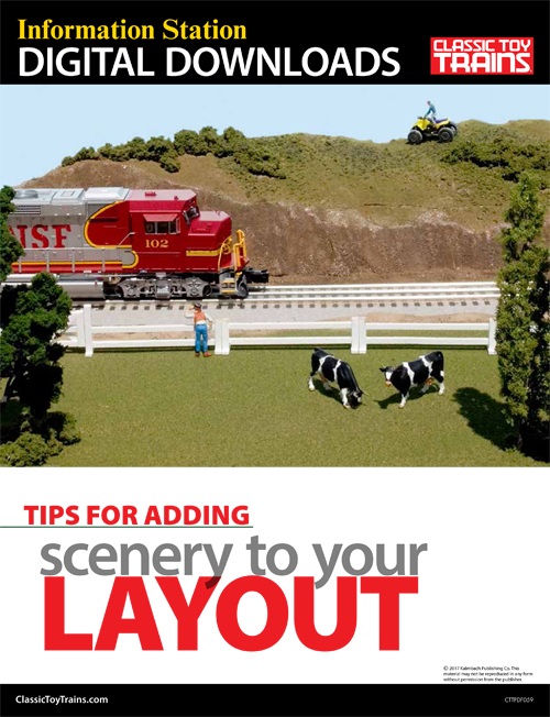 Tips for Adding Scenery to Your Layout