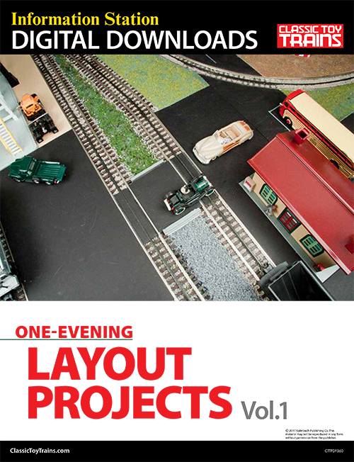 One-Evening Layout Projects, Vol. 1