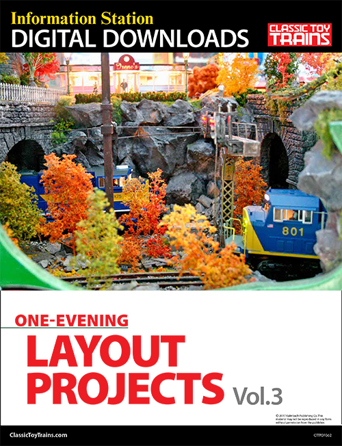 One-Evening Layout Projects, Vol. 3
