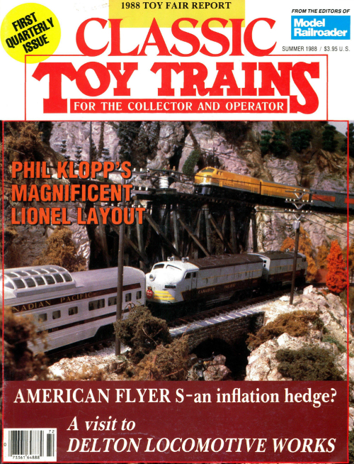 Classic Toy Trains 2nd Issue