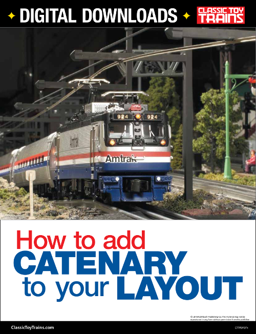 How to Add Catenary to your Layout