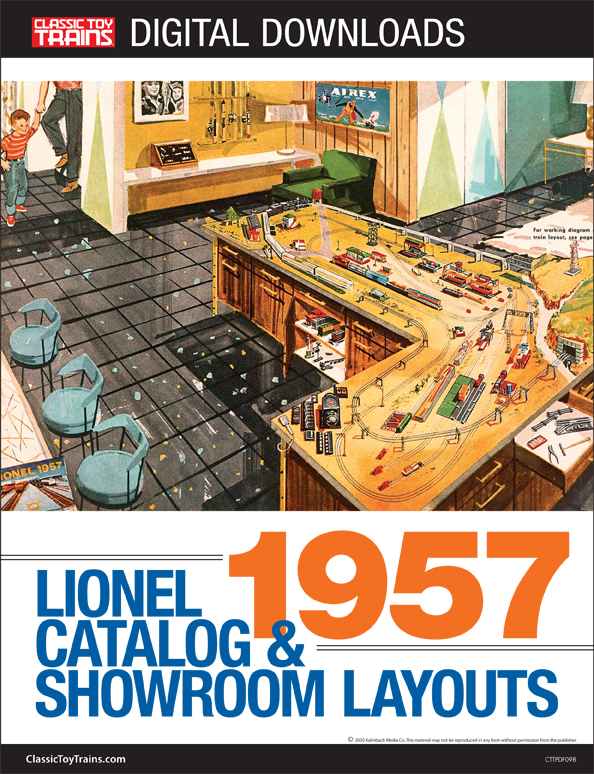 1957 Lionel Catalog & Showroom Layouts