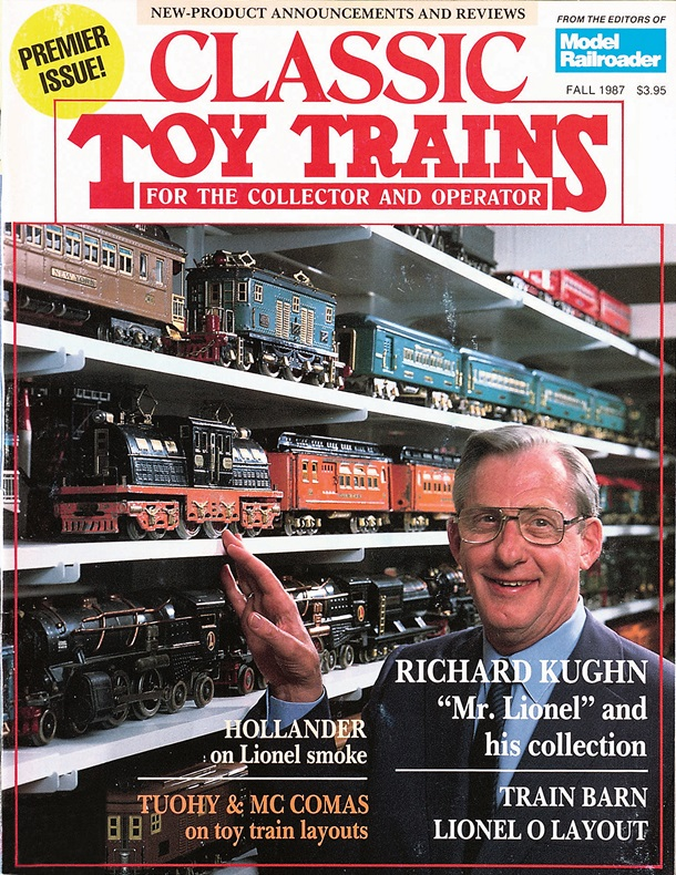 Classic Toy Trains Premier Issue