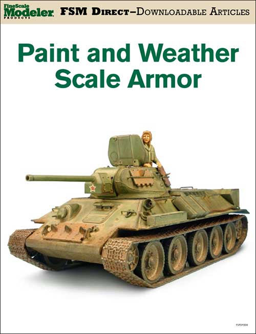 Paint and weather scale armor