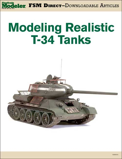 Modeling realistic T-34 tanks
