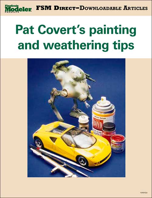 Pat Covert's painting and weathering tips