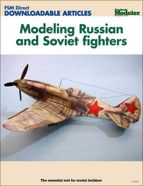 Modeling Russian and Soviet fighters