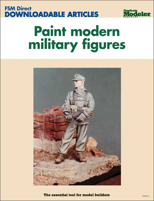 Paint modern military figures