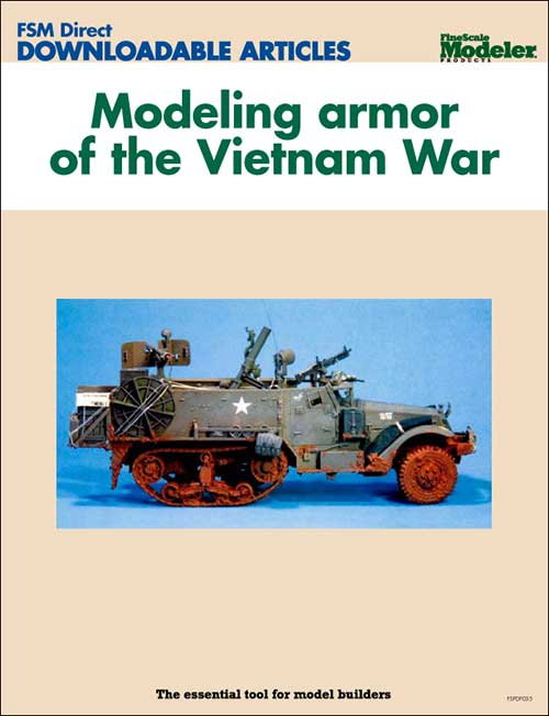Modeling armor of the Vietnam War