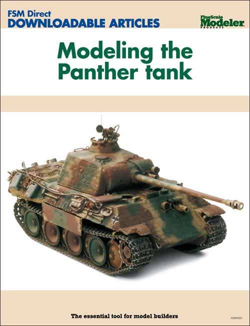 Modeling the Panther tank