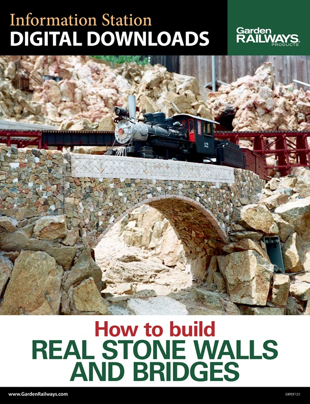 How to build real stone walls and bridges
