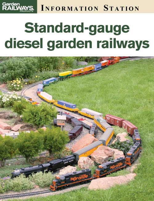 Standard-gauge diesel garden railways - Kalmbach Hobby Store
