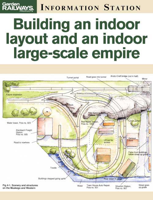 Building an indoor layout and an indoor large-scale empire