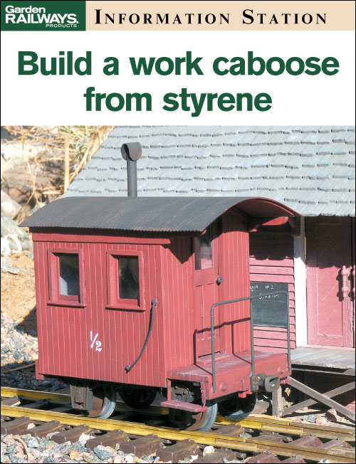 Build a work caboose from styrene