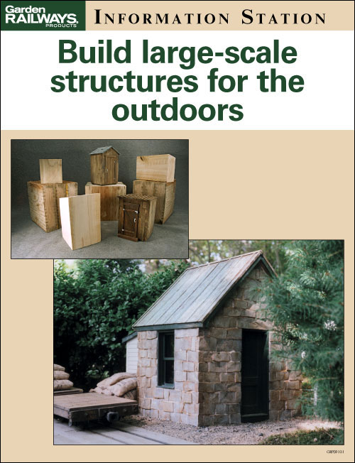 Build large-scale structures for the outdoors