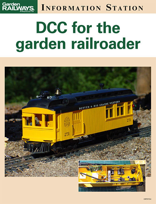 DCC for the garden railroader
