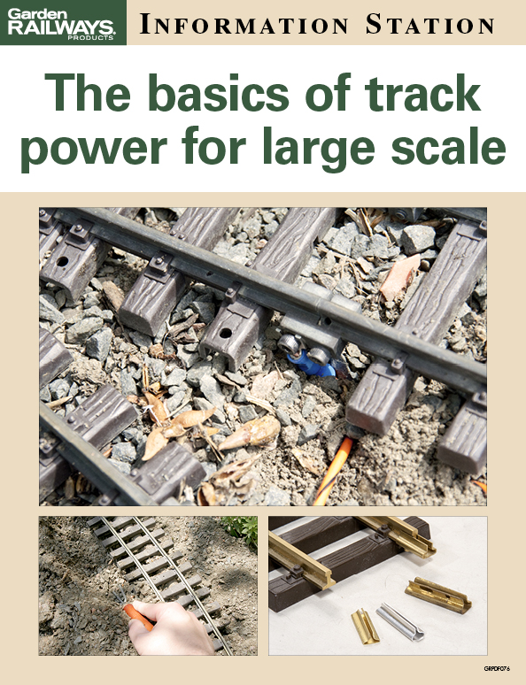 The basics of track power for large scale