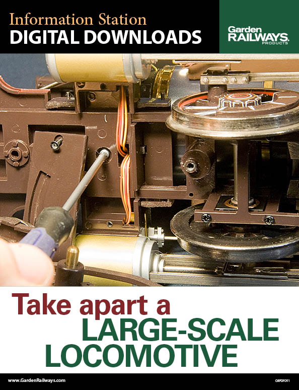 Take Apart a Large-Scale Locomotive