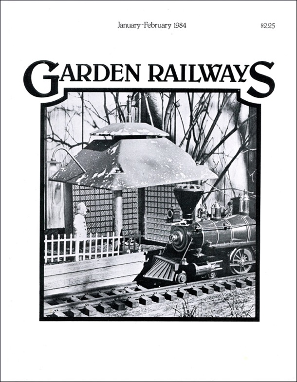 Garden Railways' First Issue