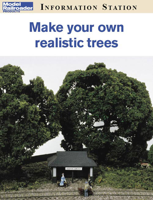Make your own realistic trees