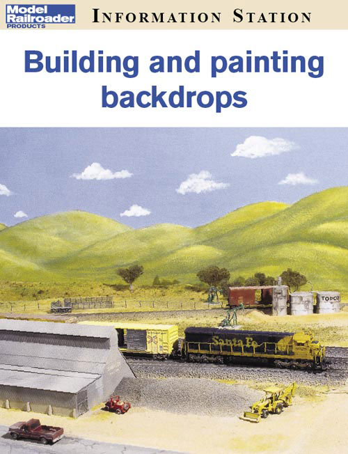 Building and painting backdrops