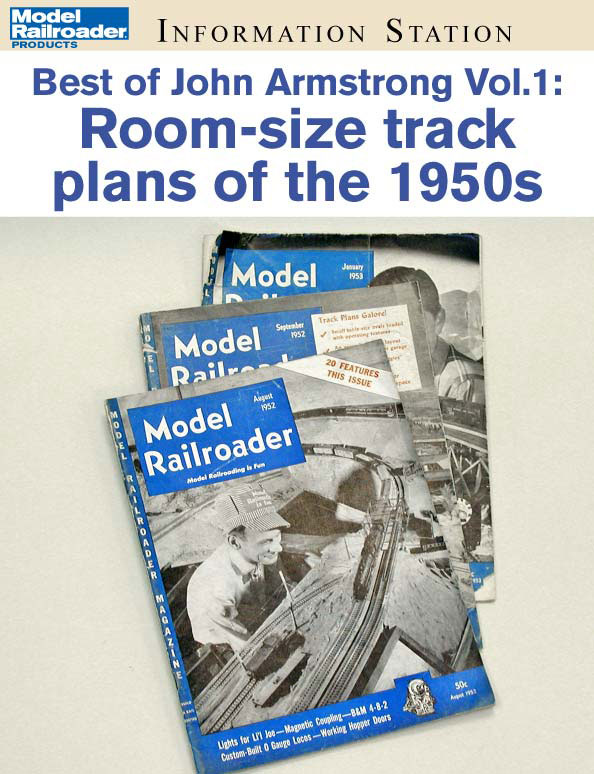 Best of John Armstrong vol. 1: Room-size track plans of the 1950s