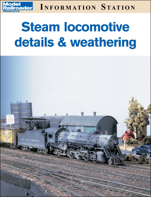 Steam locomotive details and weathering