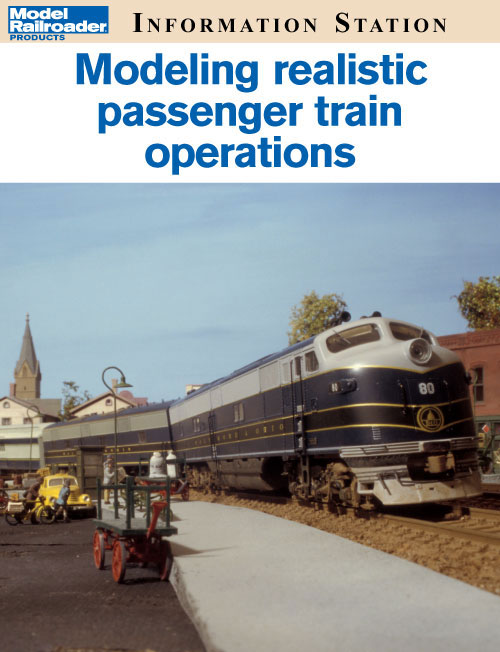 Modeling realistic passenger train operations