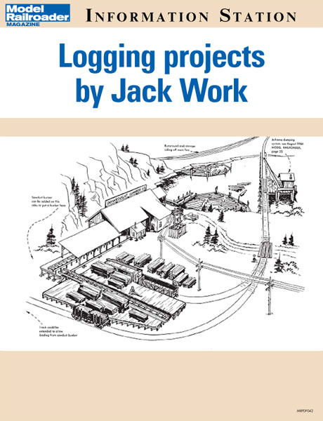 Modeling logging railroads vol. 3: Logging projects by Jack Work