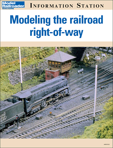 Modeling the railroad right-of-way