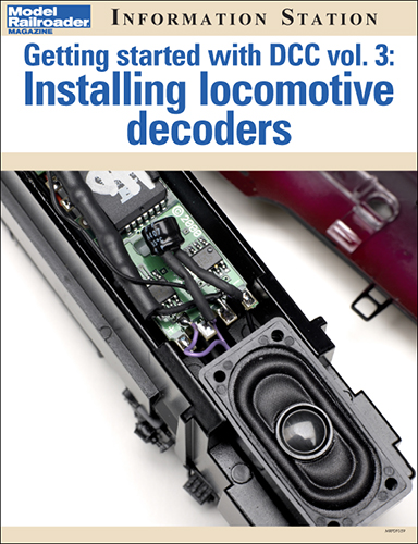 Getting started with DCC vol. 3: Installing locomotive decoders