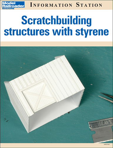 Scratchbuilding structures with styrene
