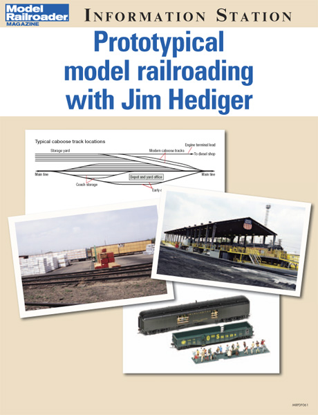 Prototypical model railroading with Jim Hediger