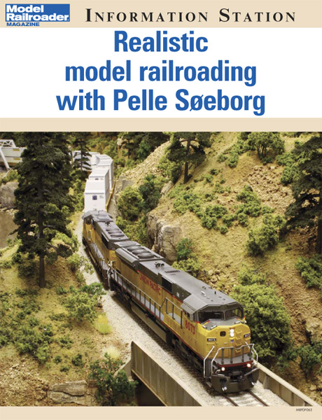 Realistic model railroading with Pelle Soeborg