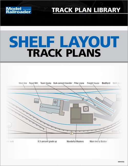 Shelf Layout Track Plans