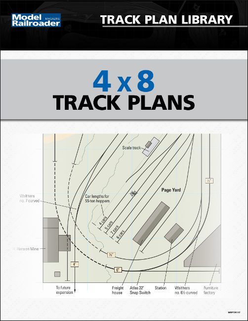 4x8 track plans kalmbach hobby store