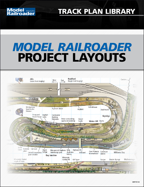 Model Railroader Project Layouts Track Plans