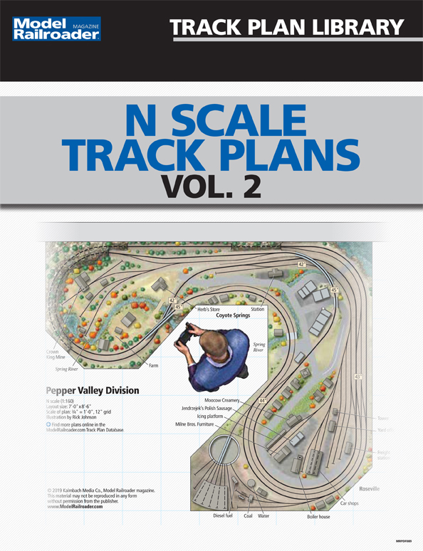 Track Plan Library: N Scale Track Plans Vol. 2