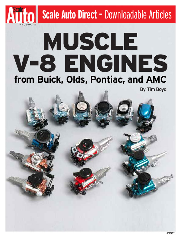 Muscle V-8 Engines from Buick, Olds, Pontiac, and AMC