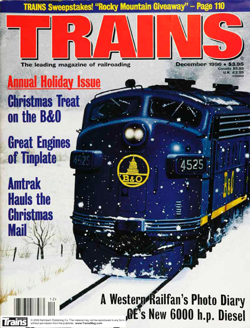 Holiday and Winter Railroading